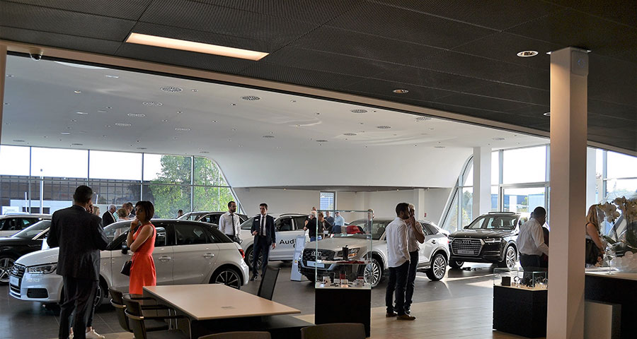 Nouveau showroom Audi Colmar